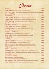 spice merchants in menu