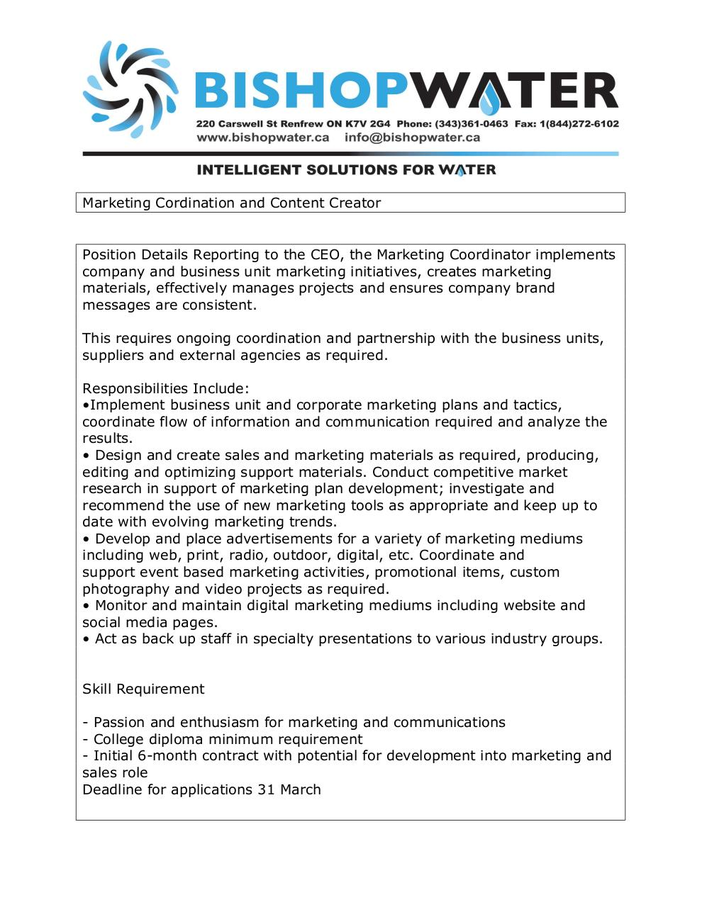 Document preview Marketing Cordination and Content Creator.pdf - page 1/1