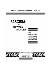 PDF Document 100 questions about fascism oswald mosley