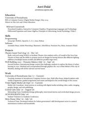 PDF Document anvi dalal td resume