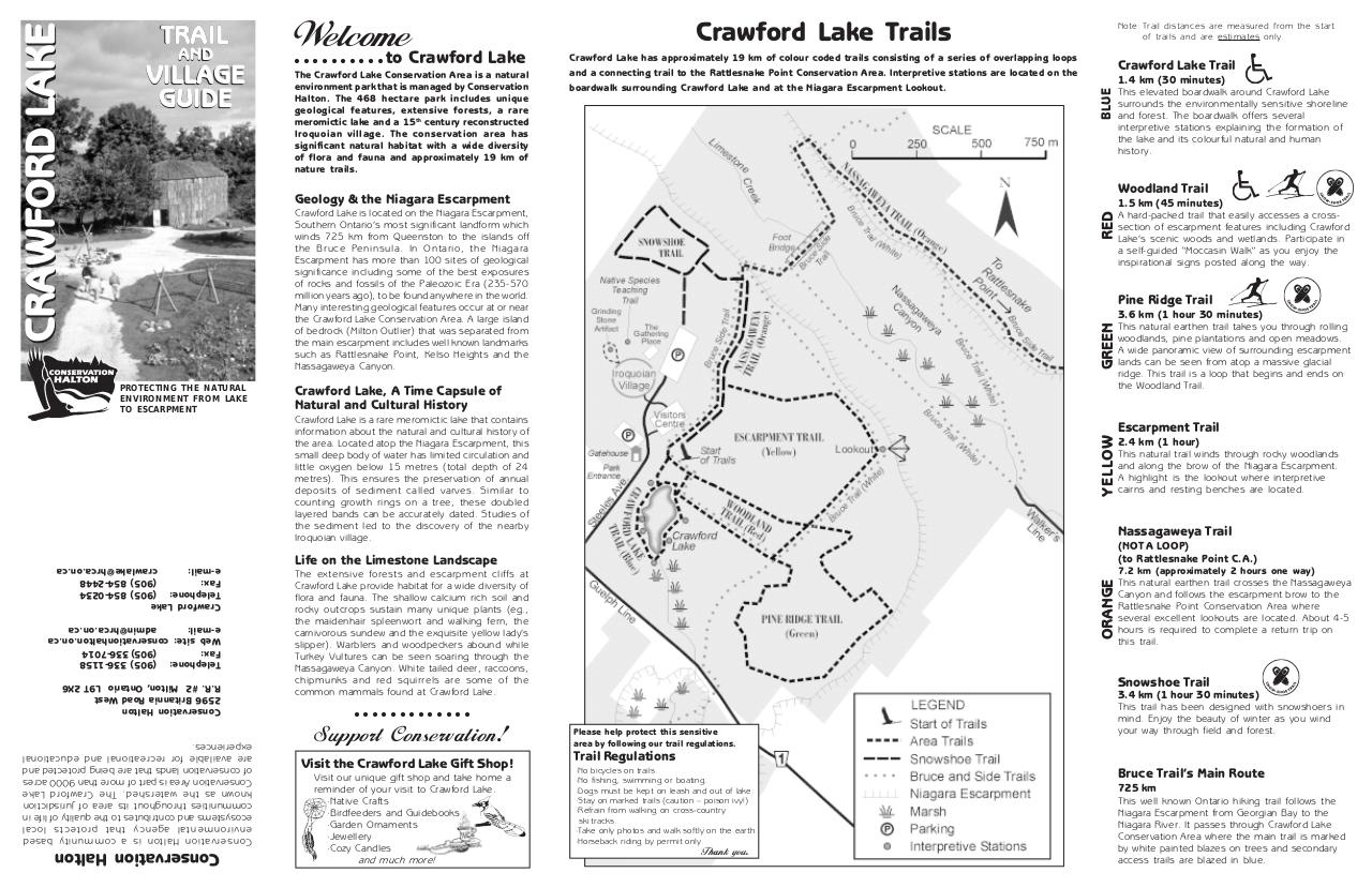 Document preview Crawford Lake Trails Map.pdf - page 1/2