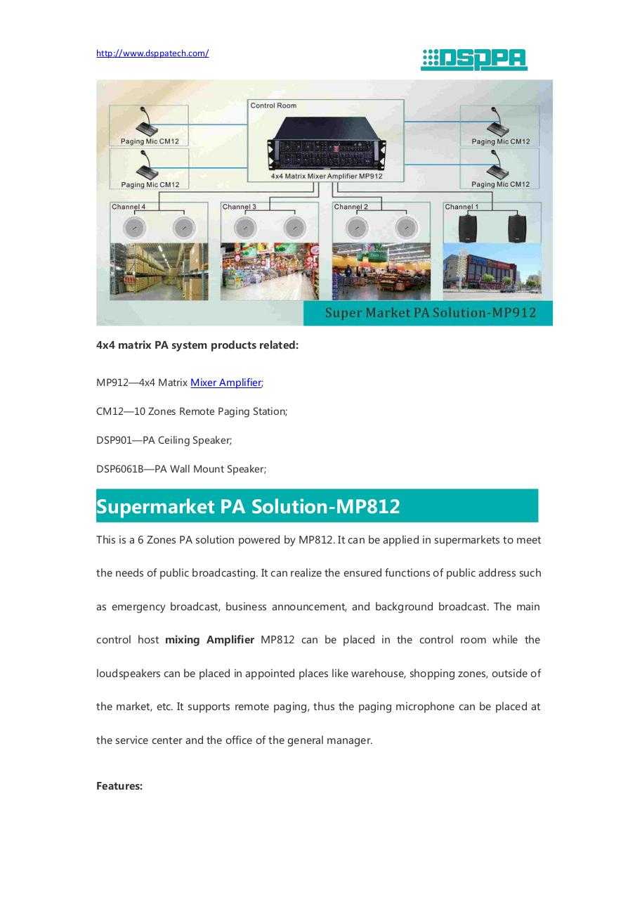 Document preview Supermarket PA Solution.pdf - page 2/5