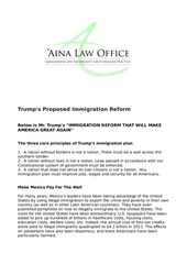 trump s immigration law