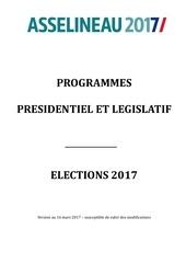 programme francois asselineau 2017