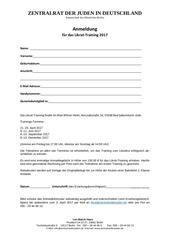 anmeldung likrattraining