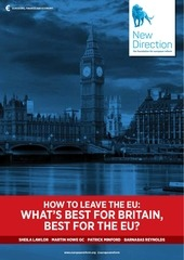 new direction report how to leave the eu