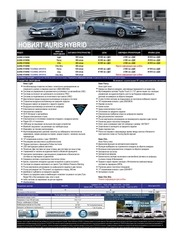 PDF Document price lists new auris hsd