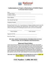 national email service payment form