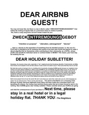 dear airbnb guest 1