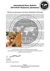 international news bulletin 2017 04 01 thylarctos plummetus