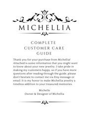 michellia customer care guide