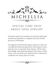 michellia opal care guide