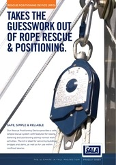 rescue positioning device rpd product information sheet