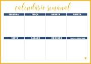 PDF Document calendario semanal