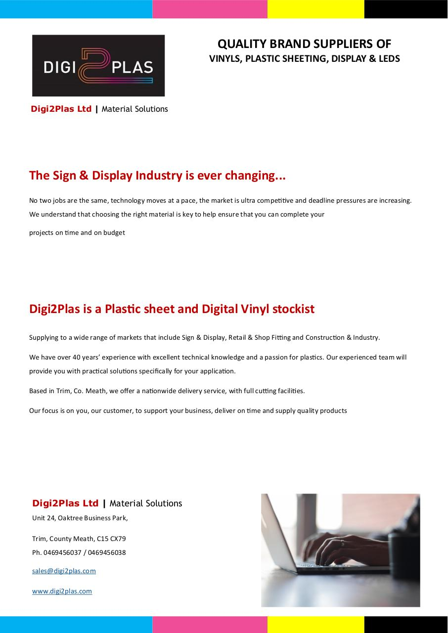 Digi2Plas Ltd, Product Catalogue 2017.pdf - page 2/40
