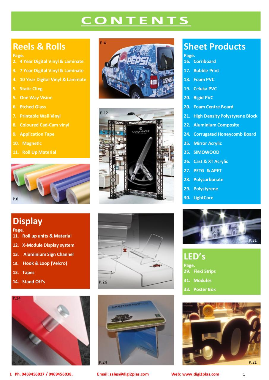 Digi2Plas Ltd, Product Catalogue 2017.pdf - page 3/40