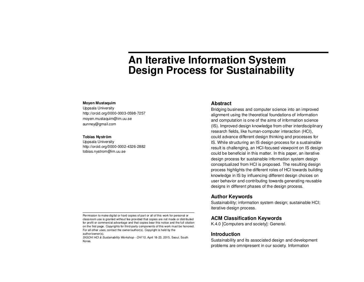 Document preview Iterative IS Design Process for Sustainability.pdf - page 1/4