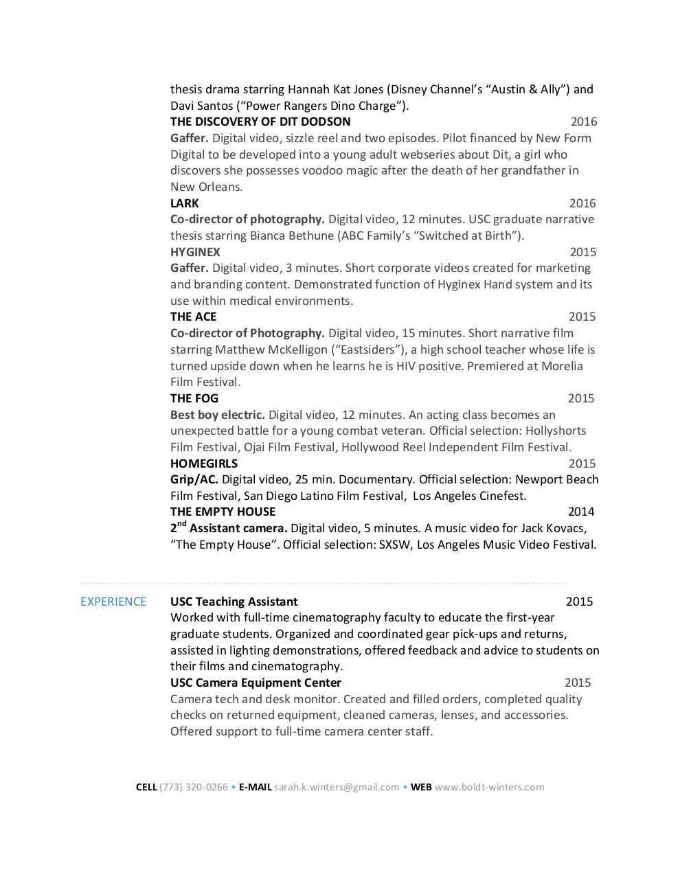 Document preview sarah_winters_resume_cv_2017.pdf - page 2/2