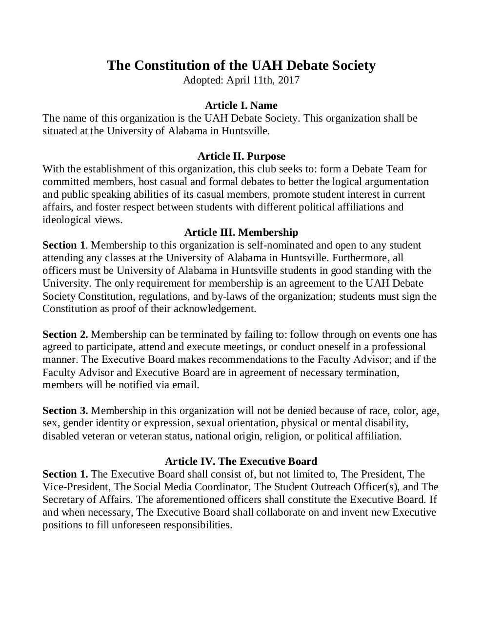 2.0 Debate Constitution.pdf - page 1/5