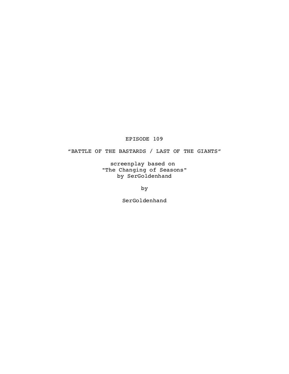 6x09, BATTLE OF THE BASTARDS Re-edited.pdf - page 1/39