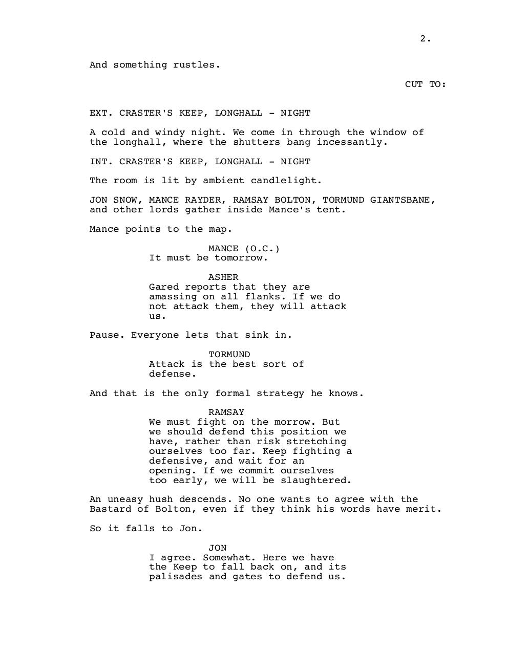 6x09, BATTLE OF THE BASTARDS Re-edited.pdf - page 3/39