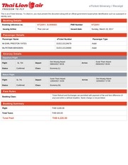 koh phangan airline ticket