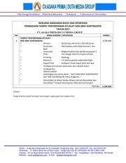 PDF Document rab lemari tempat kit alokon 2017 cv asaka prima