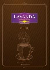 lavanda menu