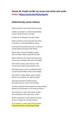 poema xx alumno