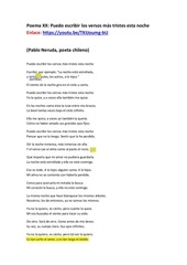 poema xx maestro