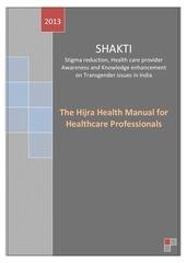 shakti hijra manual for healthcare providers
