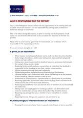 tenants repairs