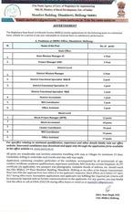 msrls recruitment 2017 18