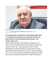 deutsche bersetzung interview mikhail gorbatschow