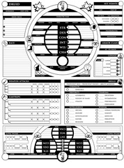 Morgen 5E Character Sheet Page1 DRUID