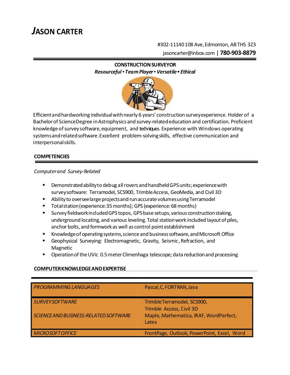 Document preview Jason_Carter_Resume.pdf - page 1/2
