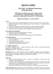 PDF Document regulamin