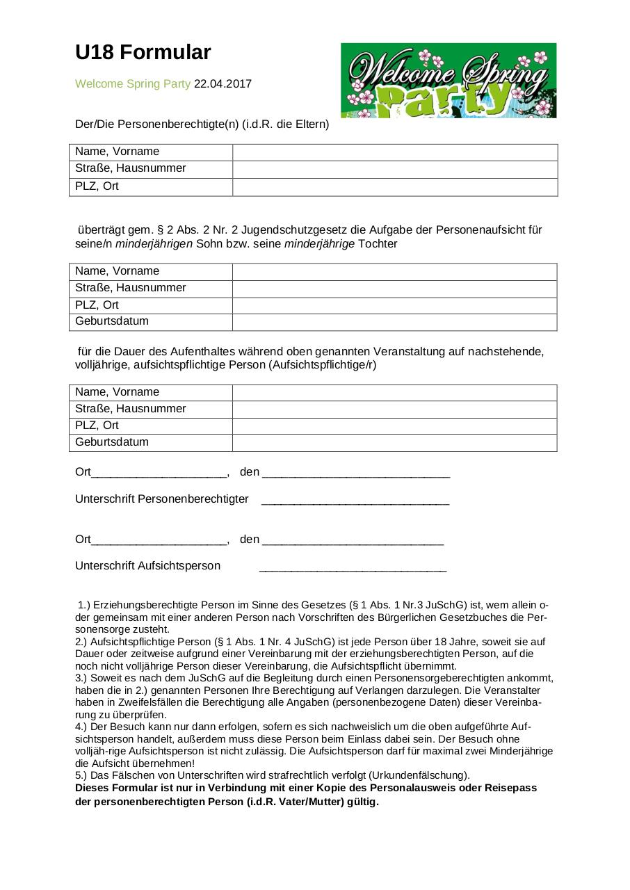 Document preview U18 Formular neu.pdf - page 1/1