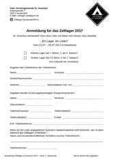 PDF Document anmeldung 2017 kinder download