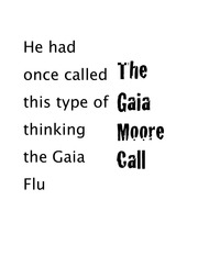 chapter 1 the gaia moore call