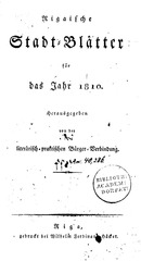 PDF Document rigasche stadtblatter 1810 ocr ta