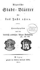 rigasche stadtblatter 1811 ocr ta pe