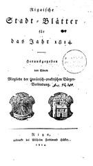 rigasche stadtblatter 1814 ocr ta pe