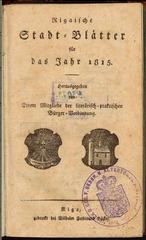 rigasche stadtblatter 1815 ocr pe