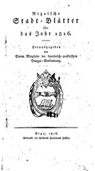 rigasche stadtblatter 1816 ocr ta