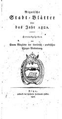 rigasche stadtblatter 1821 ocr ta