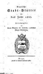 PDF Document rigasche stadtblatter 1823 ocr ta pe