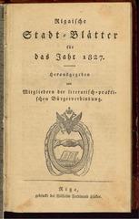 PDF Document rigasche stadtblatter 1827 ocr ta pe
