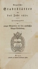 rigasche stadtblatter 1831 ocr ta