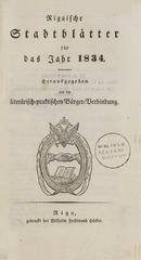 rigasche stadtblatter 1834 ocr ta